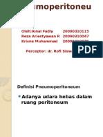 Referat Pneumoperitoneum