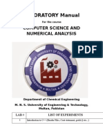 LABORATORY Manual Numerical Analysis (1)