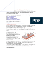 Structural Lightning Protection Design Considerations