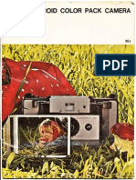 Your Polaroid Color Pack Camera