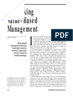BCG Rethinking Value Based Mgmt Sept 02