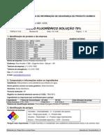 Ácido fluoridricoo