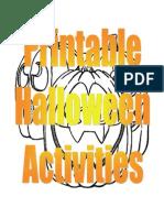 109131569 Printable Halloween Activities
