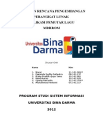 Tugas - Dokumen Rencana Pengembangan Perangkat Lunak