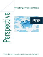 BCG Trusting Transactions Mar2005