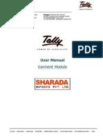 User Manual - Garment Module