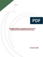Informe Propiedad Intelectual. Comisión Nacional de la Competencia