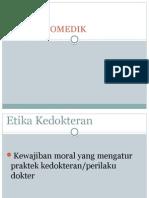 ETIKA BIOMEDIK