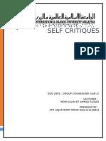 Self Critique