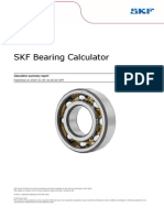 SKF 30306 Housing and Shaft Tolerances