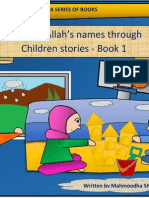 Learning Allah Names Through Children Stories - Book 1