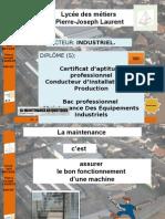 Presentation de La Maintenance MEI