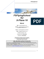FS Flying School Manual X Plane Multiple