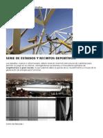 Estructuras a Gran Escala Estadios