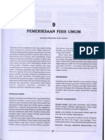 Bab 9 Pemeriksaan Fisis Umum
