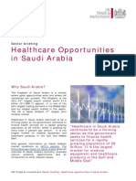 KSA Healthcare Opportunities