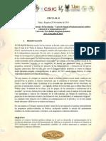 """X COLOQUIO Historia social y de las ciencias. """"Carta de Jamaica Replanteamiento político cultural de la independencia.1815."""""""