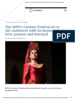 The Star Online _ the MPO's Carmen Festival Set to Stir Audiences With Its Themes of Love, Passion and Betrayal