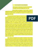 Proyecto de investigación de dinámicas de ocupación del Norte de Btá