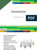 Organizacion y departamentalizacin