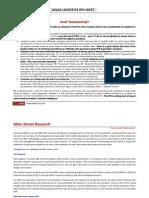 Aqua Logistics IPO Note