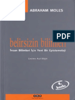 Abraham Moles - Belirsizin Bilimleri.pdf