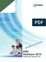 ERP Studie 2013/2014 Kostenfreie Studienvorschau