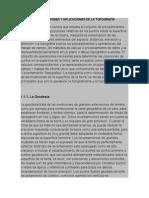 Definiciones, Divisiones y Aplicaciones de La Topografía