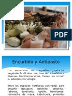 Encurtido y Antipastos y Aceites Aromatizados