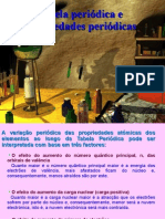 tabela periódica + propriedades periódicas