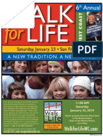 Walk for Life 2010 Flier