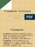 propaganda techniques ppt