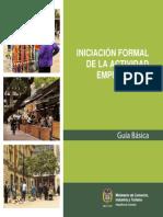 63657243 Guia de Iniciacion Formal de La Actividad Empresarial