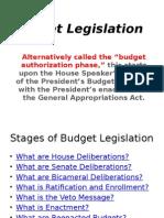Budget Legislation