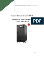 PWA Series Spanish User Manual 2014 8