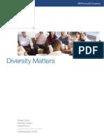 Diversity Matters 2014