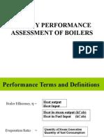 Energy Assesment of Boiler