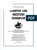 Country and Western Song Book - Readers Digest (Book) Part 1