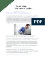 Curso de Forex, Gran Herramienta Para El Trader