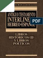 A.T. INTERLINEAL HEBREO-ESPAÑOL Vol. III.pdf