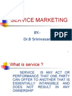 services marketing  rly experience.ppt