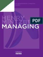 Managing - Henry Mintzberg - Cap. 1