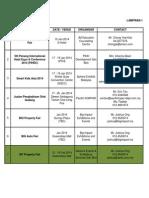 Pte2014 Calendar Version 3