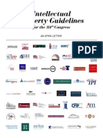 Intellectual Property Guidelines for the 114th Congress