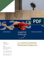 Curso Superior Planificacion Deportiva