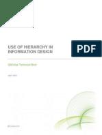 Hierarchy in Design - Tech Brief