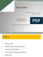 Seal No Seal Utah Workshop
