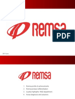 Remsa Brake Pads Commercial Presentation 2013