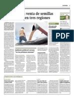 Oefa Detecta Venta de Semillas Transgenicas (Gestion, 2feb2015)