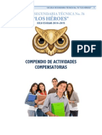 Compendio de Actividades Compensatorias para nivel secundaria